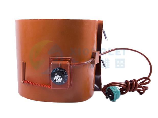 带旋钮温控油桶加热带