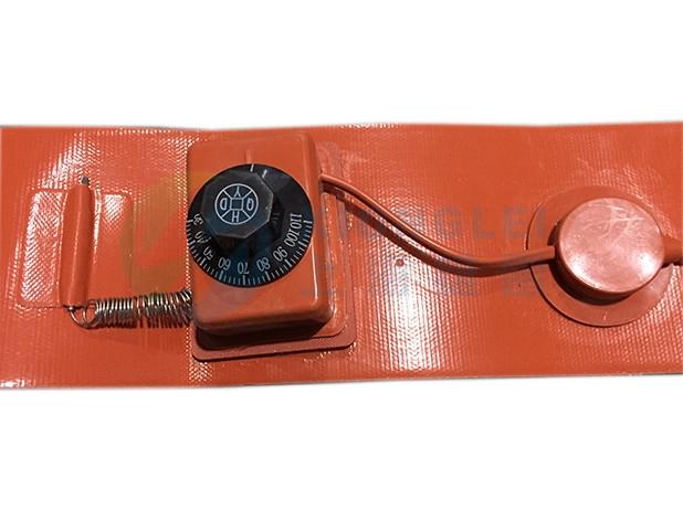 旋钮温控硅胶电加热带
