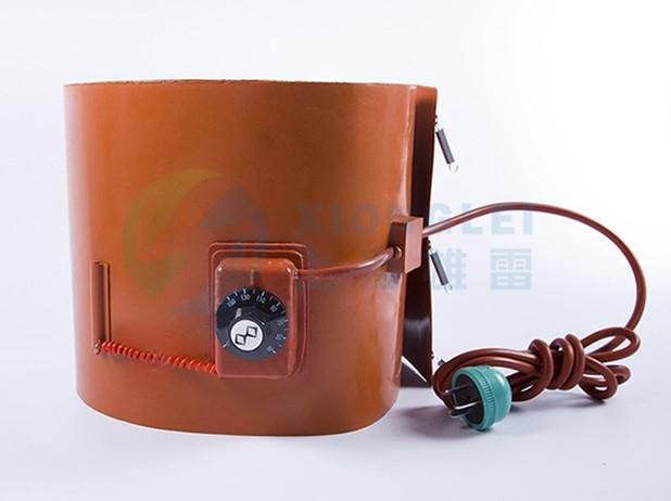 带旋钮温控油桶电加热带