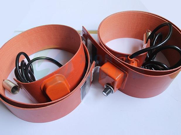 带数显温控及弹簧油桶电加热带
