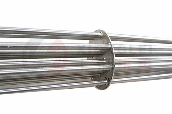 集束式法兰电热管