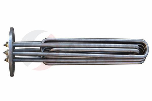 液压油法兰电热管